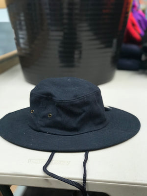 Gum Cotton Wide Brim Hat