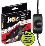 Korr Lighting 12V On/Off Dimmer Switch