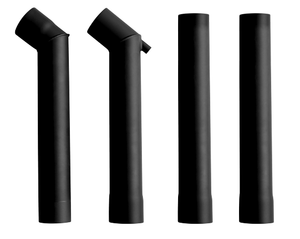 Ozpig Offset Chimney Kit (2 x Offset Pieces & 2 x Straight Pieces)