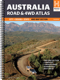Hema Australia Road + 4WD Atlas spiral 11th Edition