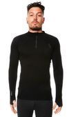 XTM Mens Merino Thermal Baselayer w/ Zipneck