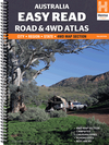 Hema Australia Easy Read Road & 4WD Atlas - 293 x 396mm