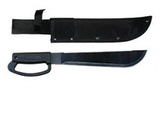 "Bush Tracks 12"" US Army Machete with Saw Back & Cover"