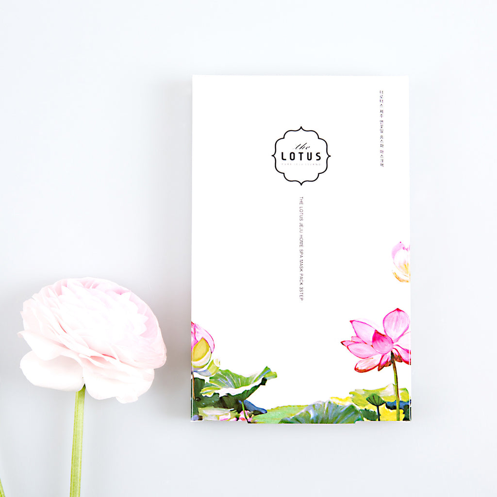 The Lotus Home SPA Mask Pack 3 SET