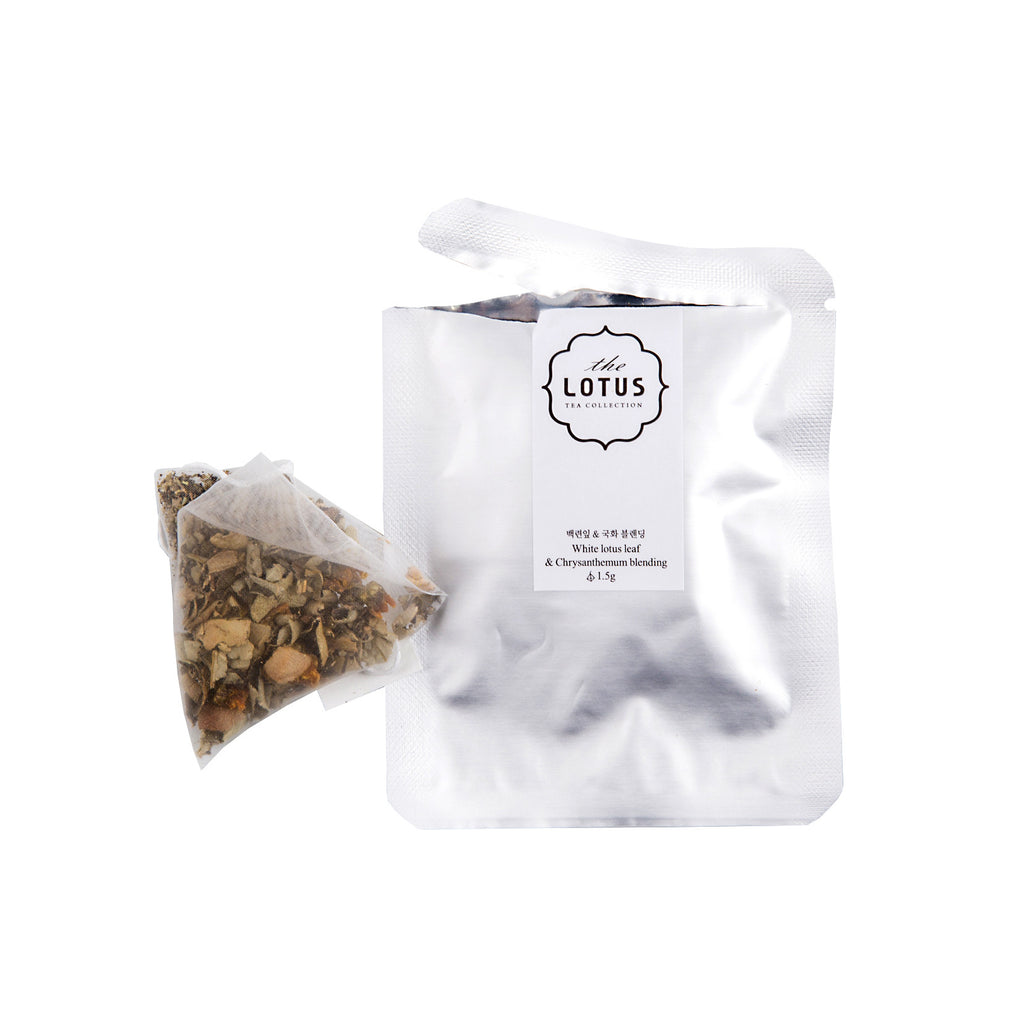 The Lotus 5 Tea Bag Set - Original White Lotus Leaf