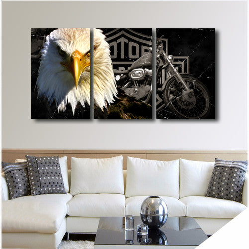 Motorcycles wall art