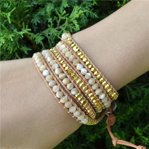 Gentle Dawn Wrap Bracelet