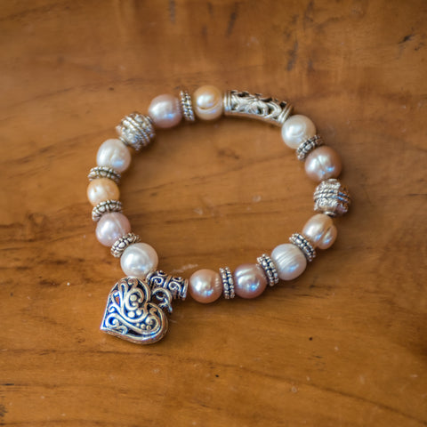Love and Pearl Renewal Bracelet