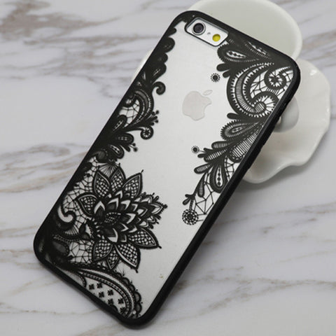 Mandala Floral iPhone Case