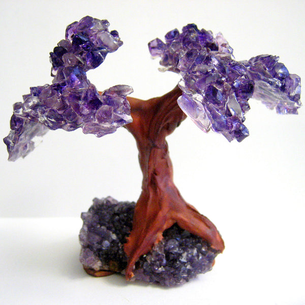 Amethyst Crystal Cluster Tree Of Life Mindyana Perfect