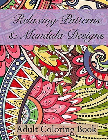 Mandala Adult Coloring Book - 20 Designs