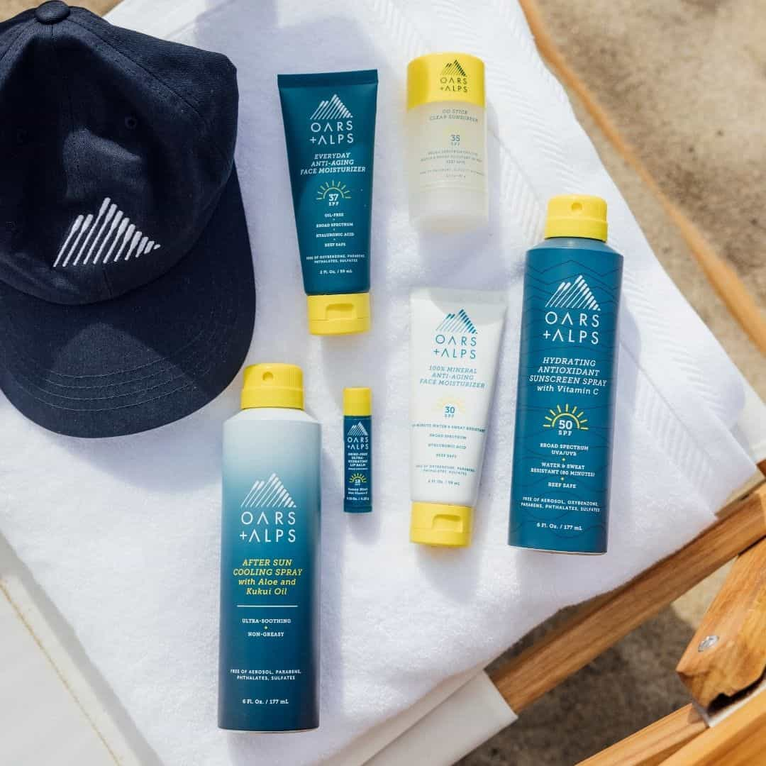 Sunscreen to pack for the beach