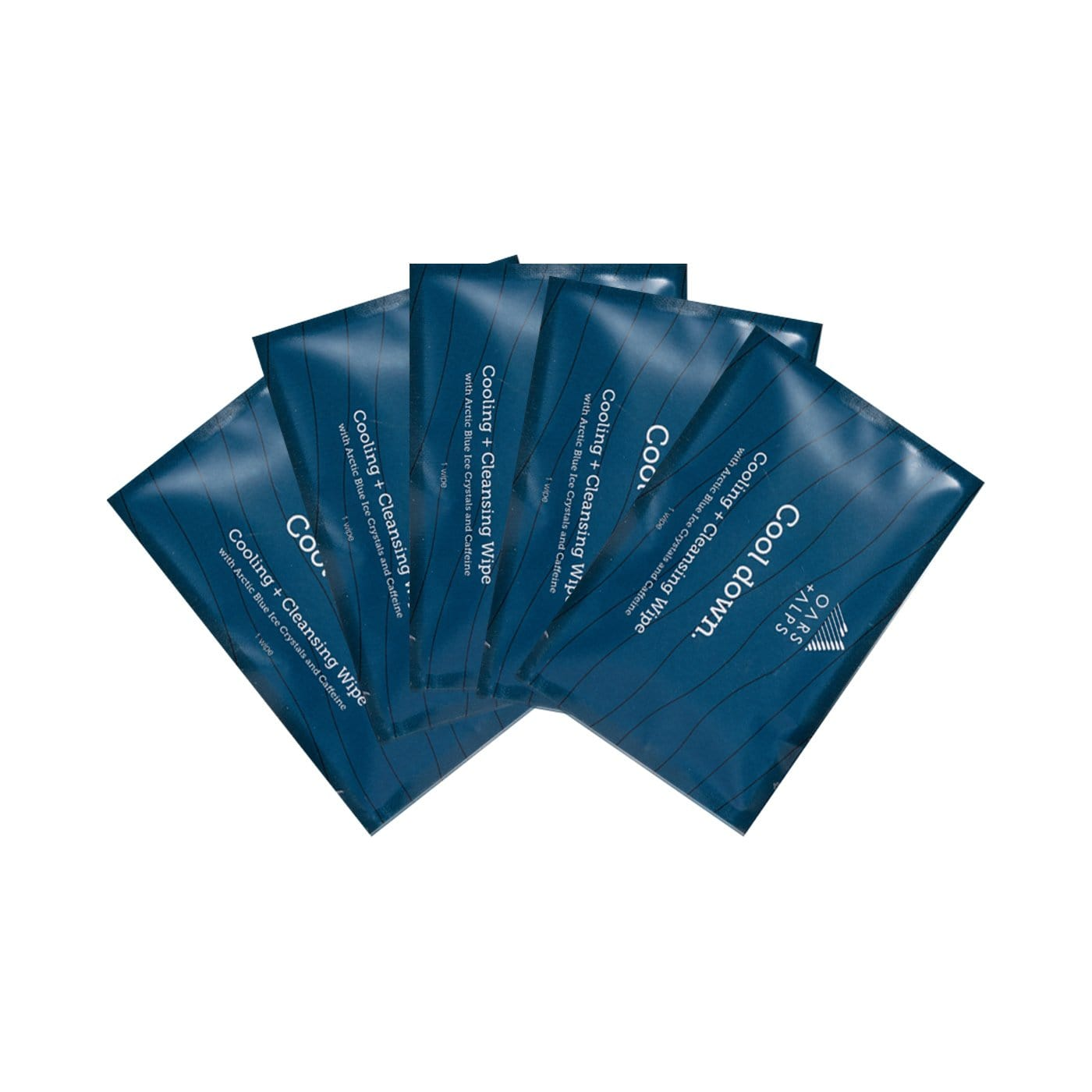 FREE 5 Cooling + Cleansing Wipes
