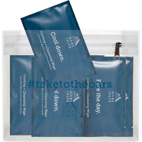 FREE Cooling + Cleansing Wipes