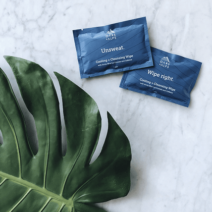 Cooling + Cleansing Wipes