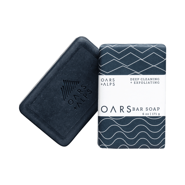 Blue Charcoal Exfoliating Oars Bar Soap