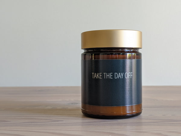 Take the Day Off Candle
