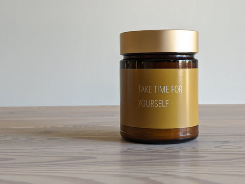Take Time For Yourself Candle
