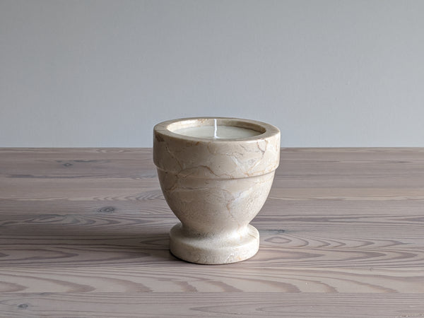 Vintage Natural Stone Candle