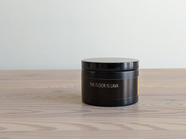 The Floor is Lava Candle Tin