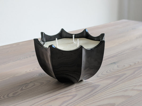 Vintage Black Umbrella Candle