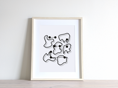 Pareidolia IV Printable Wall Art