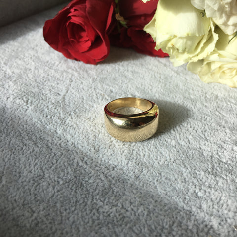 Bidot ring 14k gold