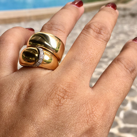 Reilly ring 18k gold