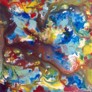 Day 137- Spring Wind- Tribute to Sam Francis