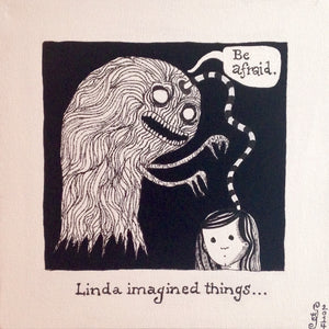 Day 149- Linda Imagined Things…-Tribute to Edward Gorey (Reserved for Joshua Herreshoff)
