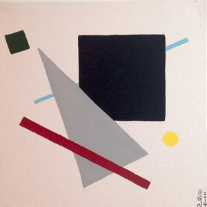Day 161- Suprematist- Tribute to Kazimir Malevich