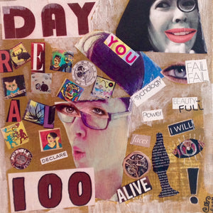 Day 100- Day 100- Tribute to Raoul Hausmann