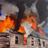 Day 30- The Roof is on Fire- Tribute to Joy Garnett (Reserved for John Laux)