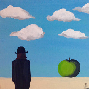 Day 131- The Elusive Mystery- Tribute to Rene Magritte