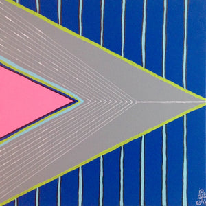 Day 111- Montagne Gris- Tribute to Frank Stella