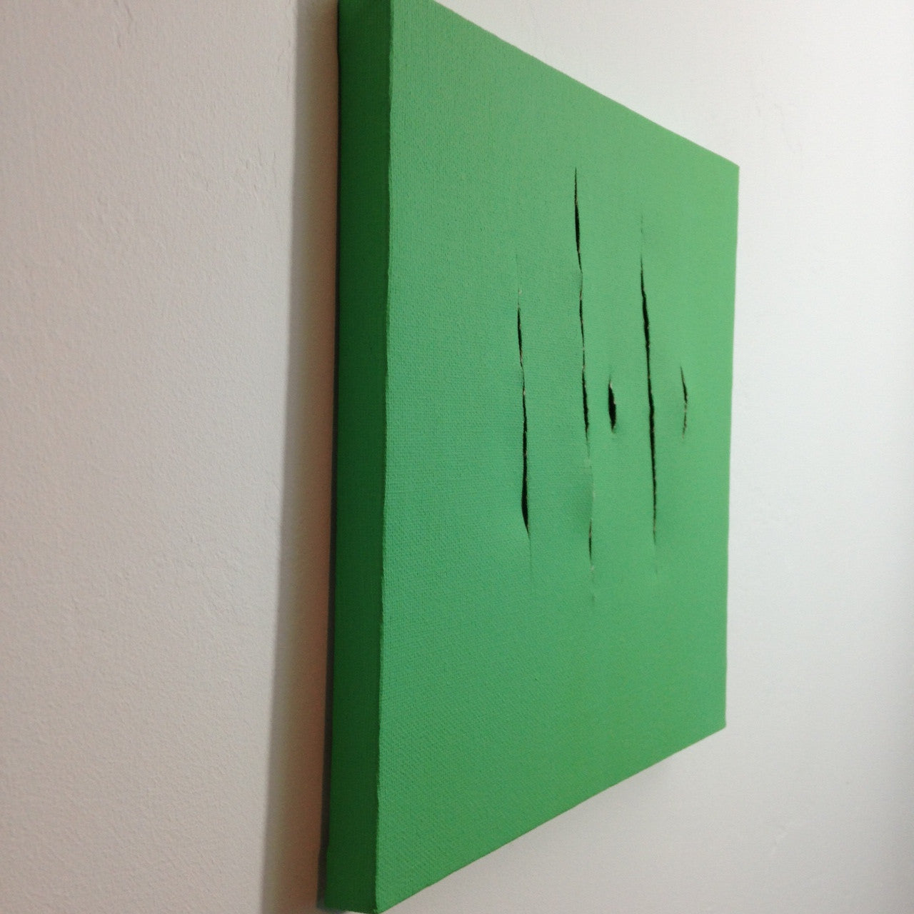 Day 158- Remain Calm- Tribute to Lucio Fontana