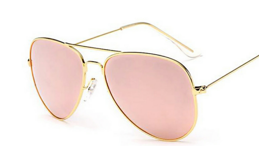 PINK AVIATOR SUNNIES