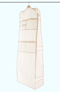 Wedding Dress Garment Bag with Pockets