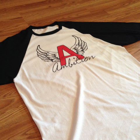 Winged Ambition 3/4 Sleeve