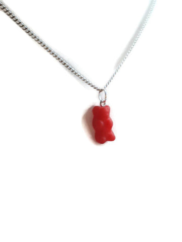 Gummy bear sweets necklace