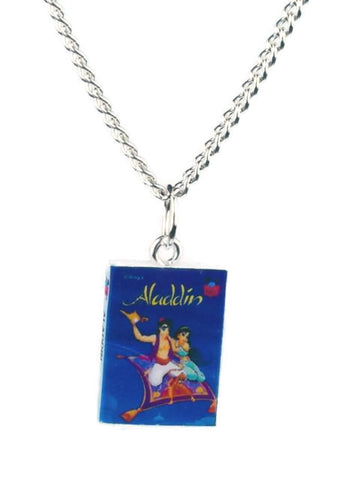 Aladdin Book Necklace - Dragon Dreads