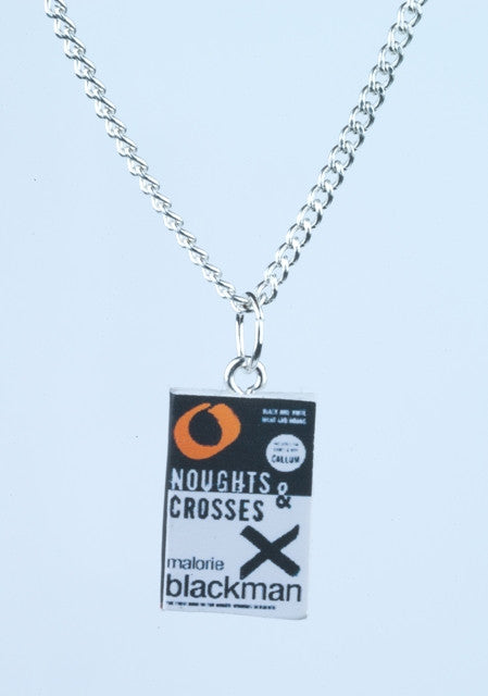 Noughts and Crosses Book Necklace