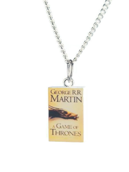 Game of Thrones Book Necklace - Dragon Dreads
