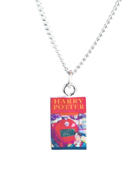 Harry Potter Book Necklace - Dragon Dreads