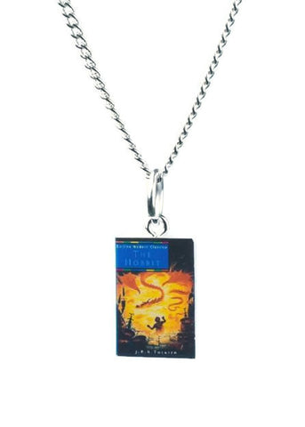 Hobbit Book Necklace - Dragon Dreads