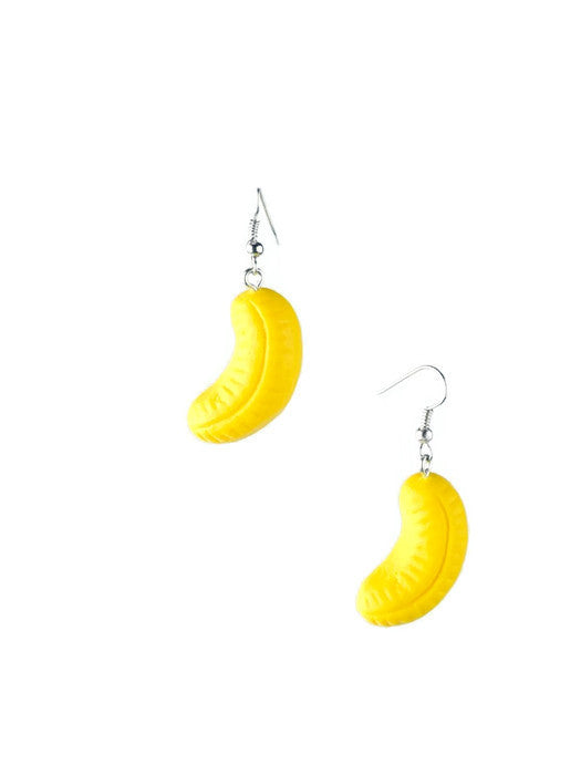 Foam Banana Sweet Earrings
