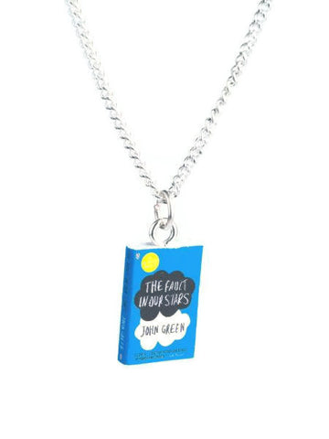 The Fault In Our Stars Book Necklace - Dragon Dreads