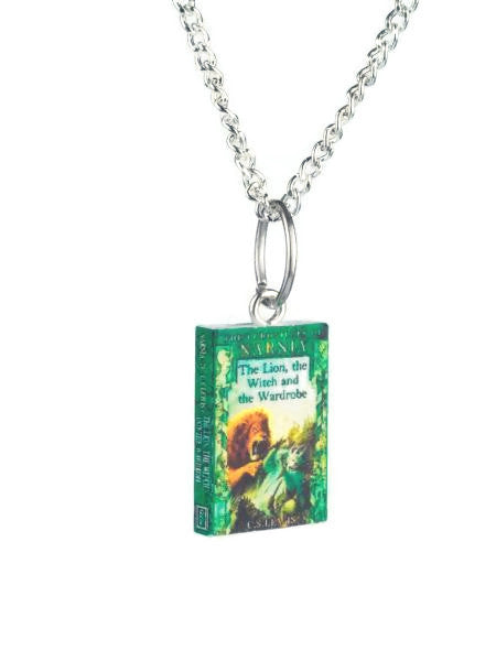 The Lion The Witch And The Wardrobe Book Necklace