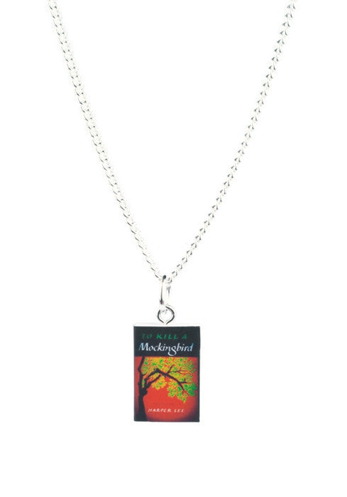 To Kill a Mockingbird Book Necklace - Dragon Dreads