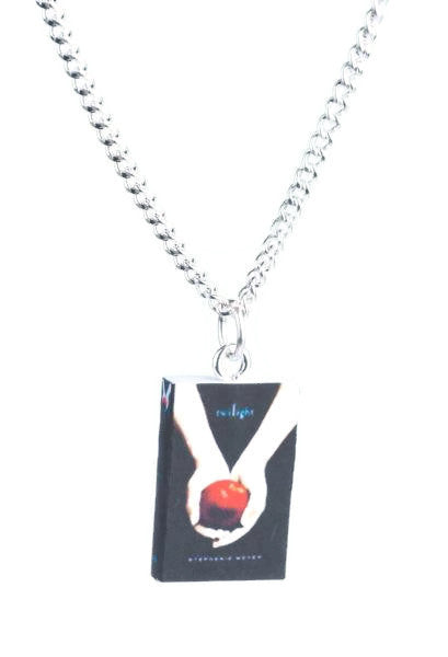 Twilight Series Book Necklace